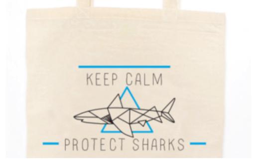 tote-bag- shark requin ailerons